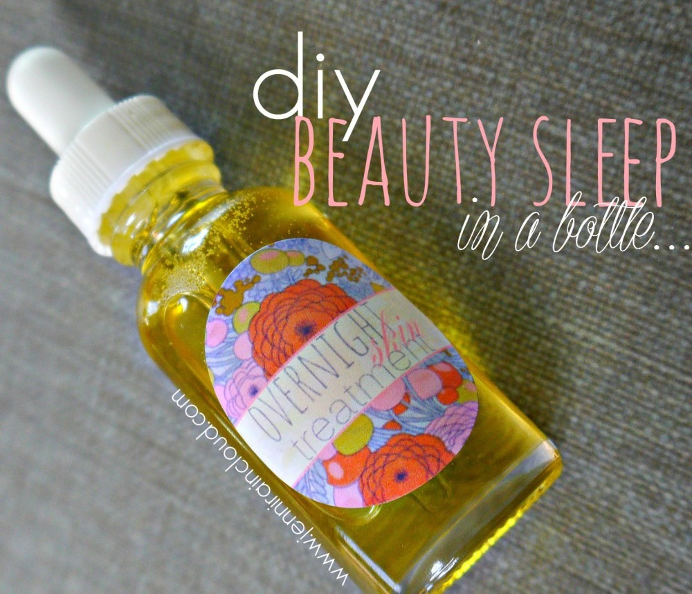 DIY Night Serum
