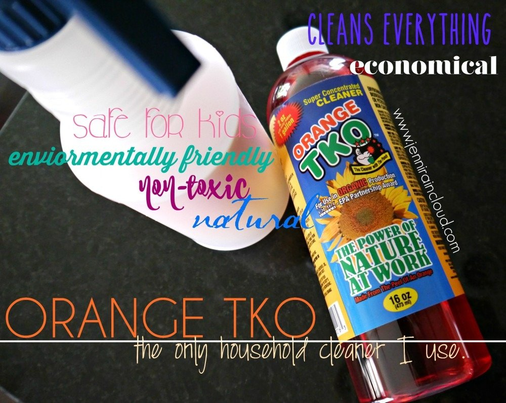 ORANGE TKO-Clean it All with 1 Bottle.
