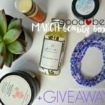 March Good Being Beauty Box-Plus GIVEAWAY!!!!