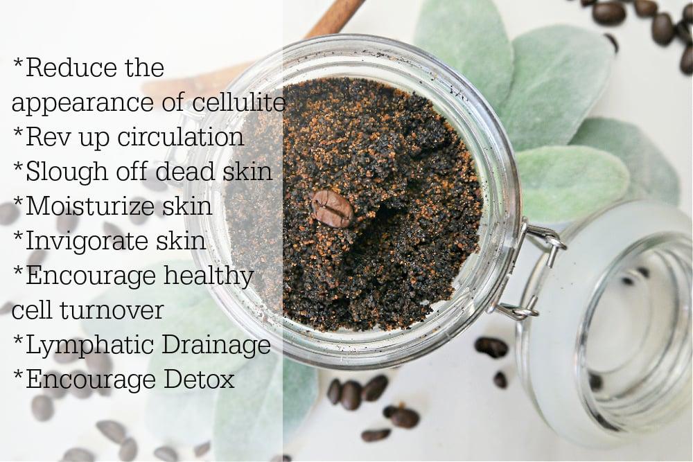 DIY Coffee Scrub benefits