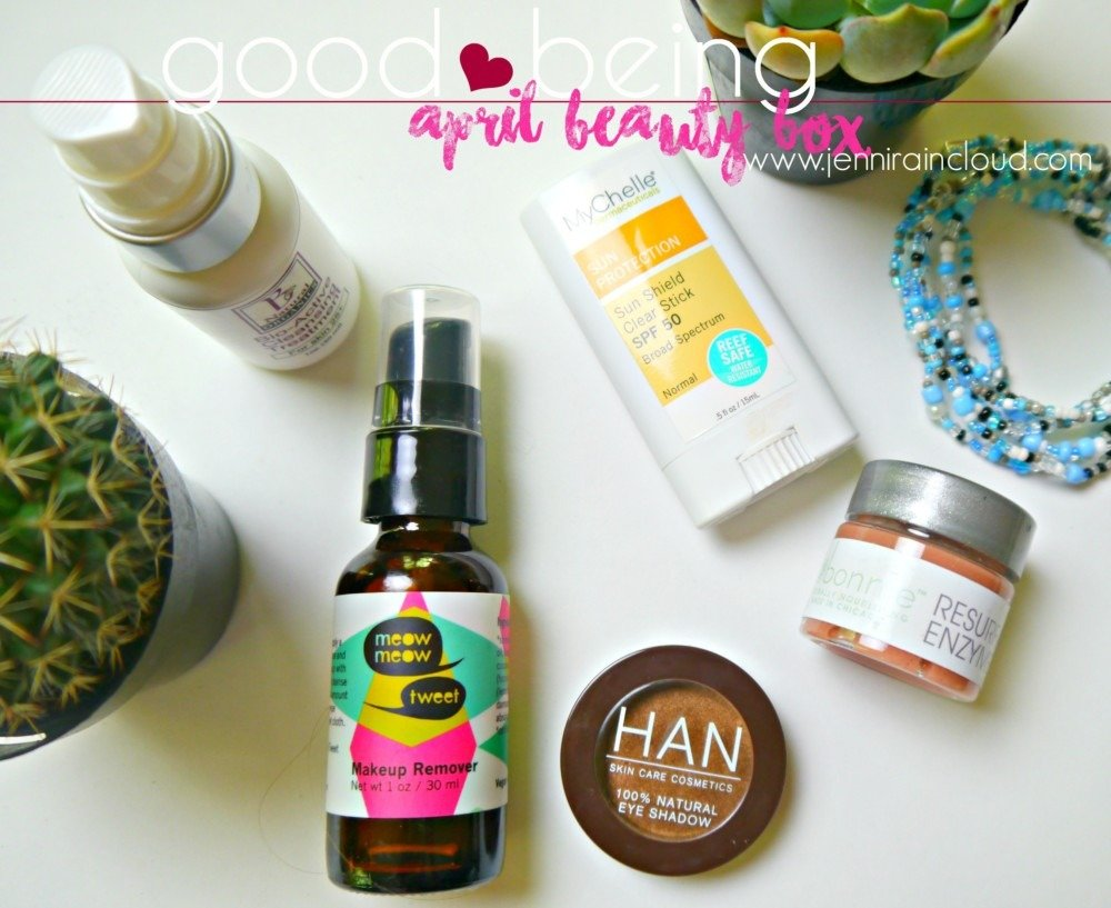 April Good Being Natural Beauty Box + GIVEAWAY!!