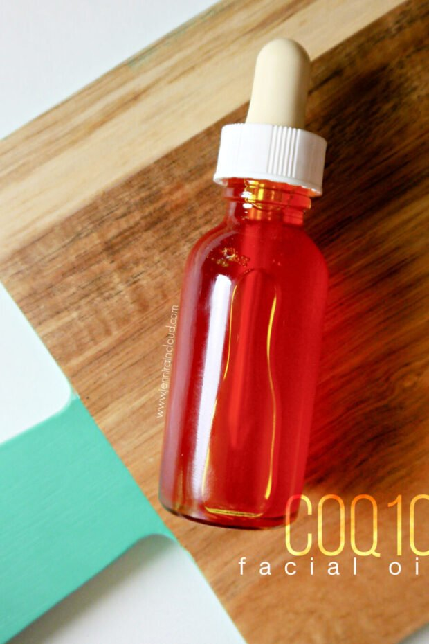 DIY CoQ10 Skin Benefits and Face Oil