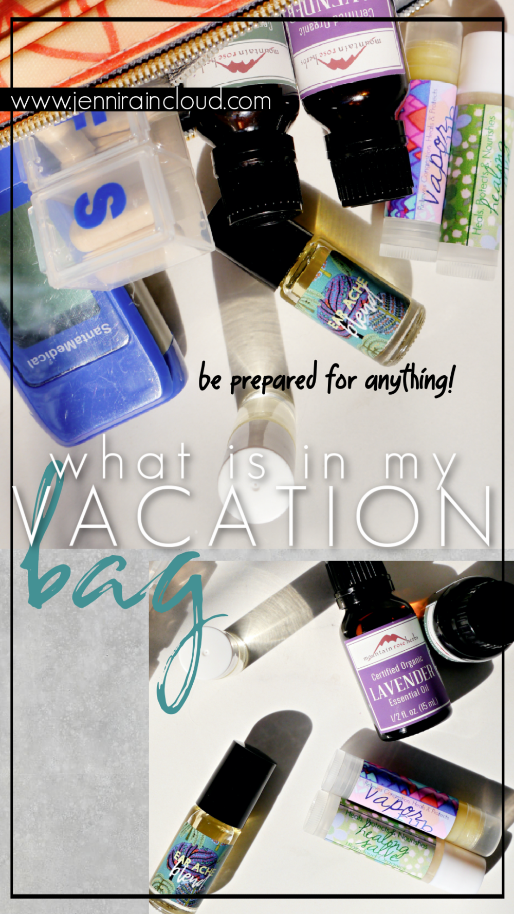 Essential Oils for Vacation
