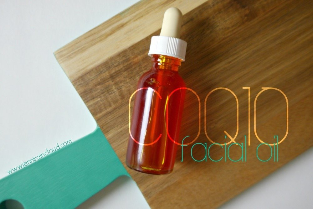 DIY coQ10 facial oil