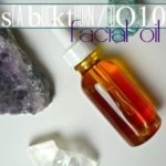 coQ10 Sea Buckthorn Facial Oil Recipe