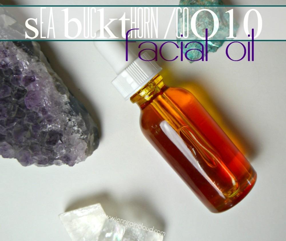 coQ10 Sea Buckthorn Facial Oil Recipe