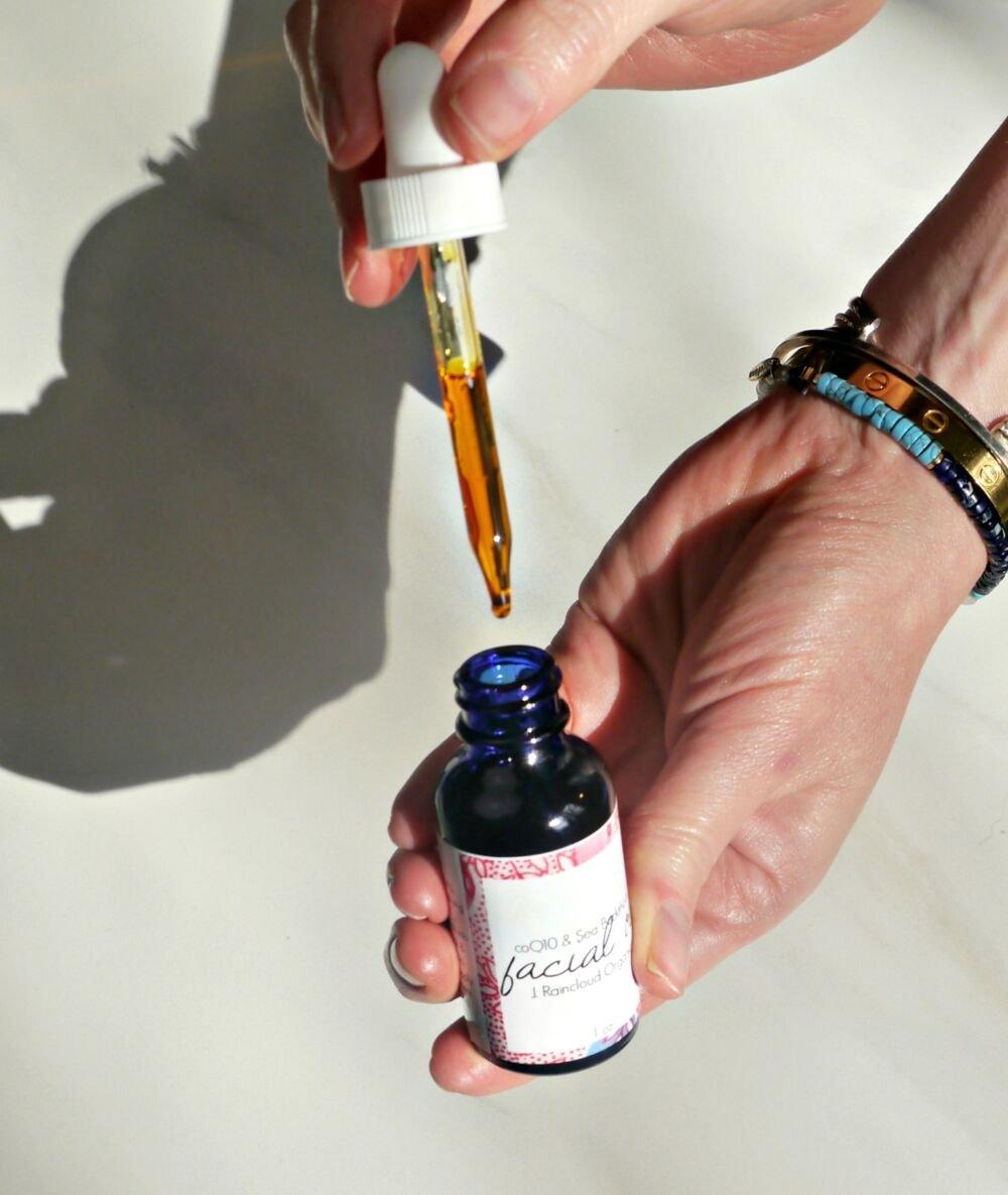 coq10 sea buckthorn facial oil