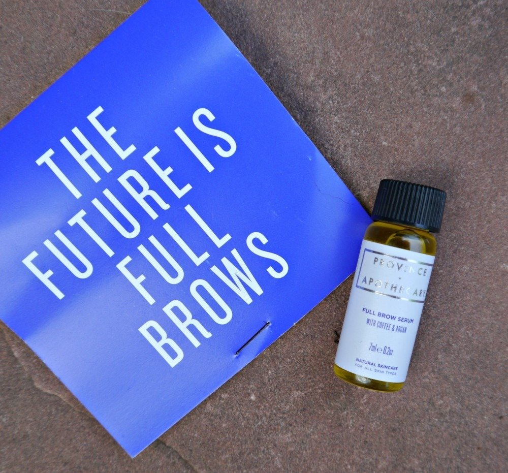 Province and Apothecary Brow Serum