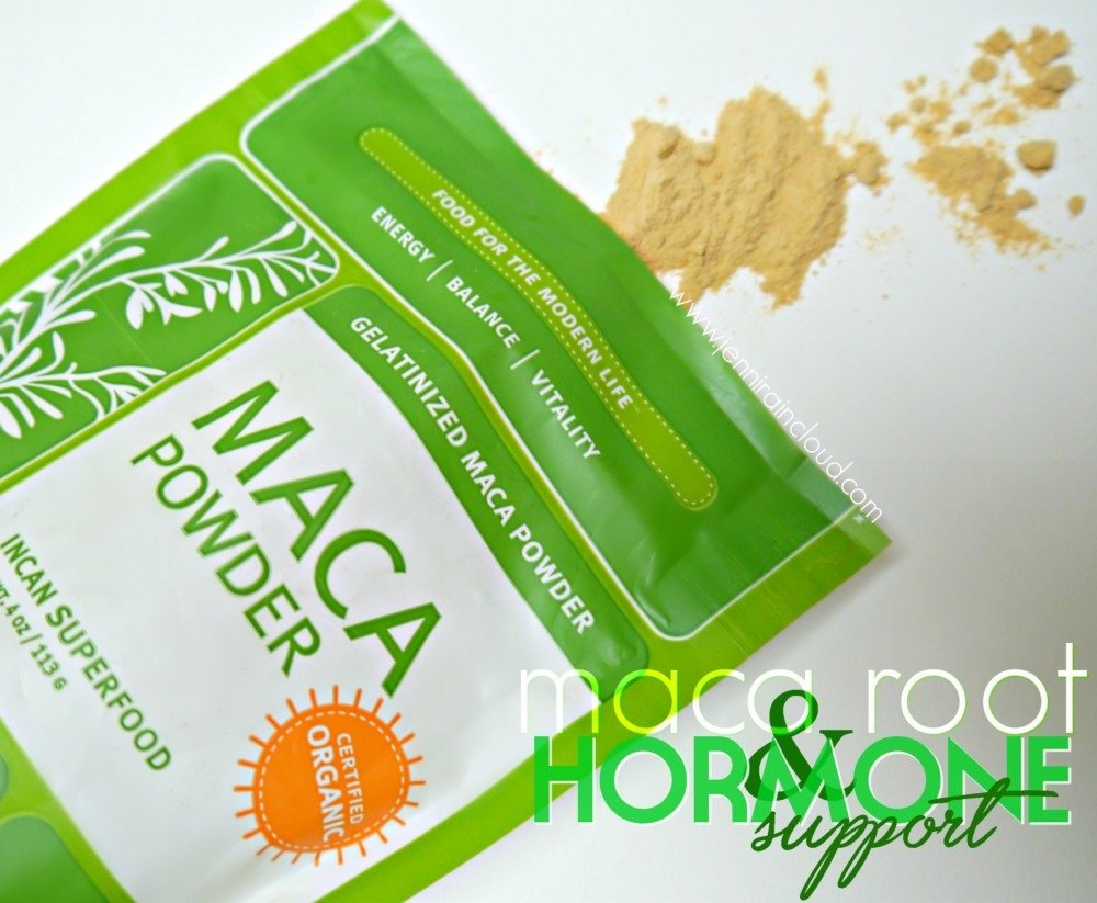 Balance Hormones with Maca Root!