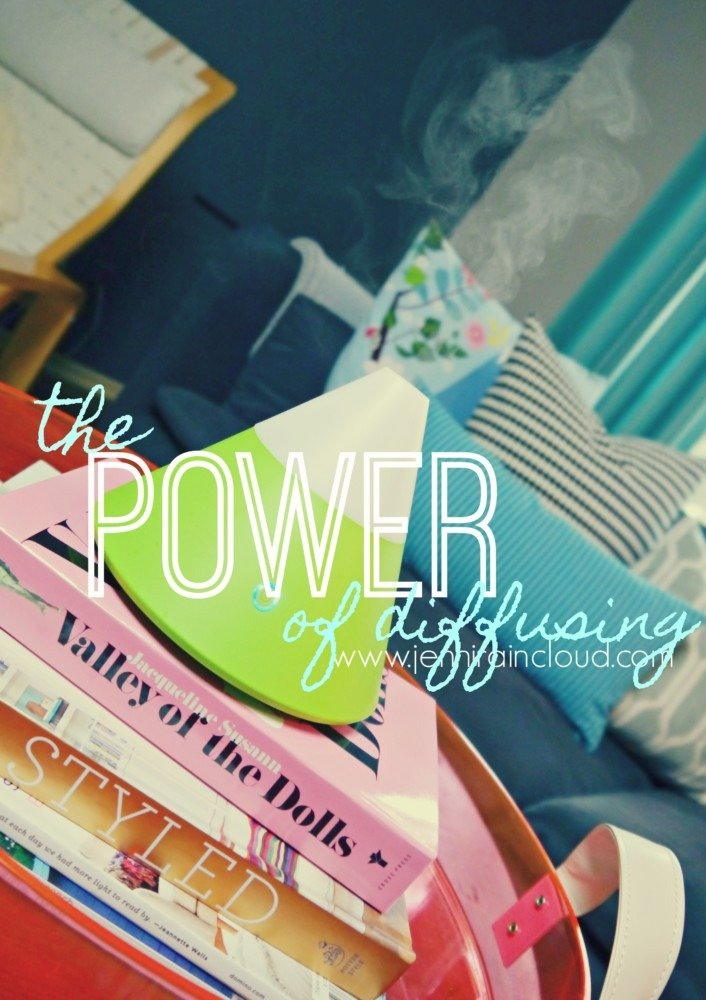 The Power of Diffusing Essential Oils