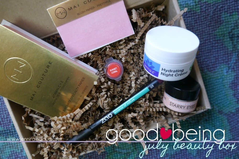 Good Being July Beauty Box