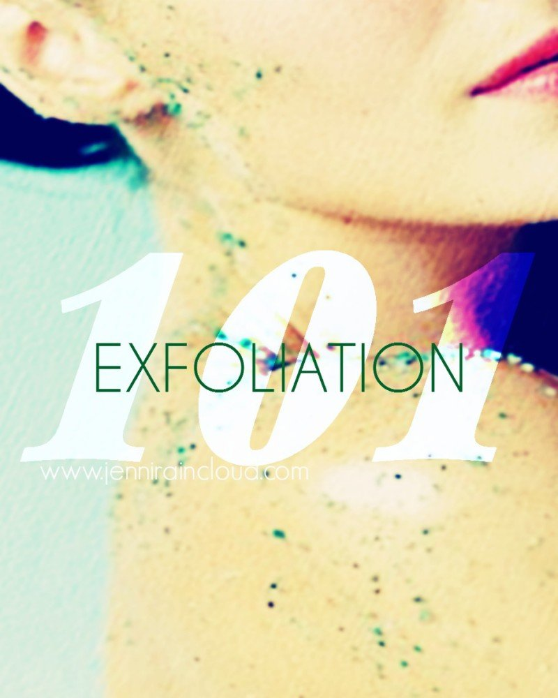 Exfoliation 101-The Natural Way.