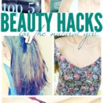 My Top 5 Beauty Hacks-To Save You Time, Toxins and Money!