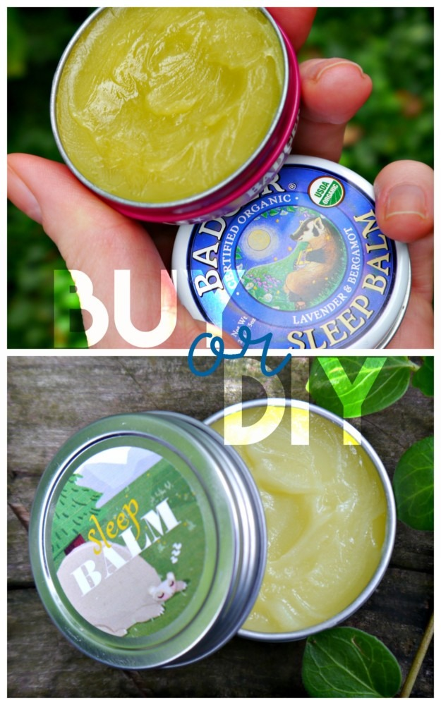 Badger Balm DIY or BUY
