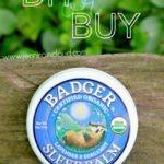 DIY or BUY: Badger Sleep Balm