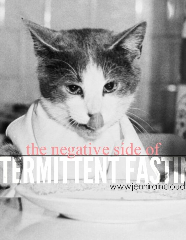 Negative Side of Intermittent Fasting