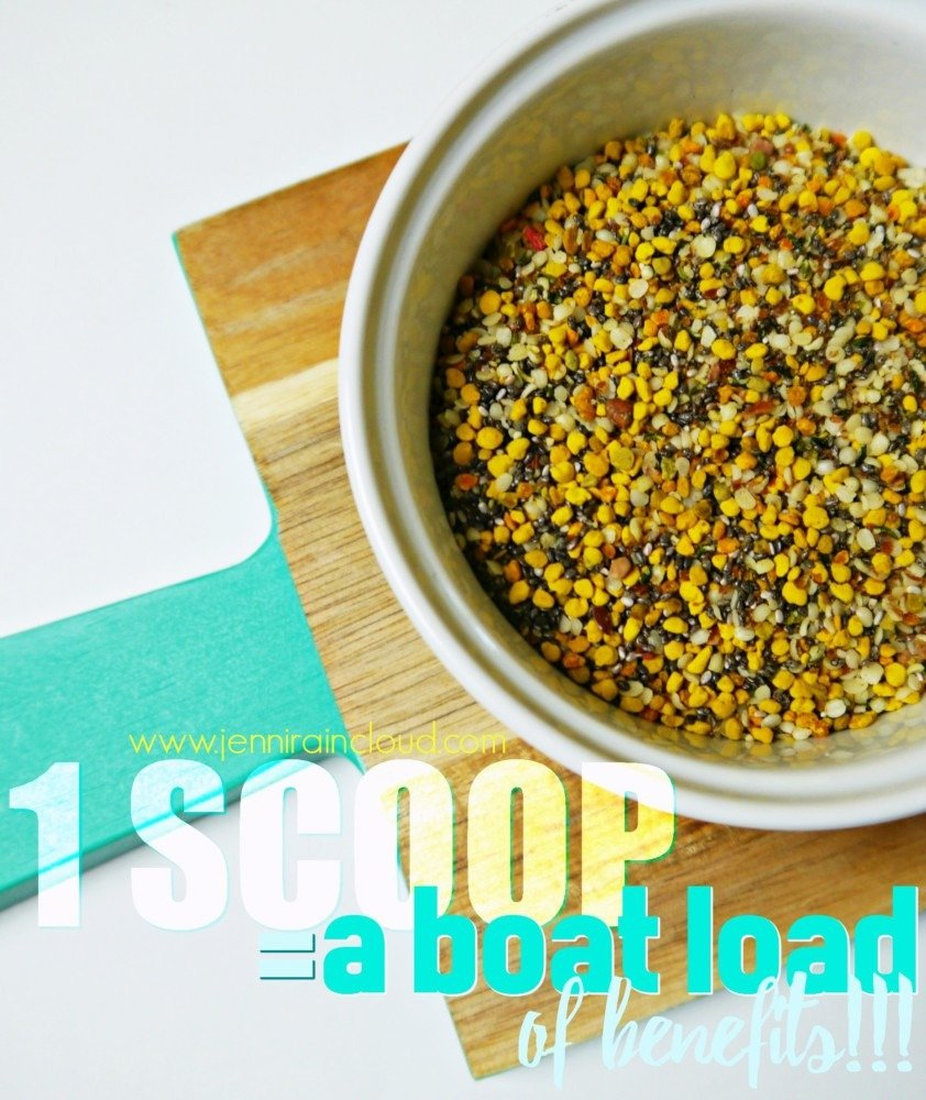 1 Scoop=A Boat Load of Benefits!