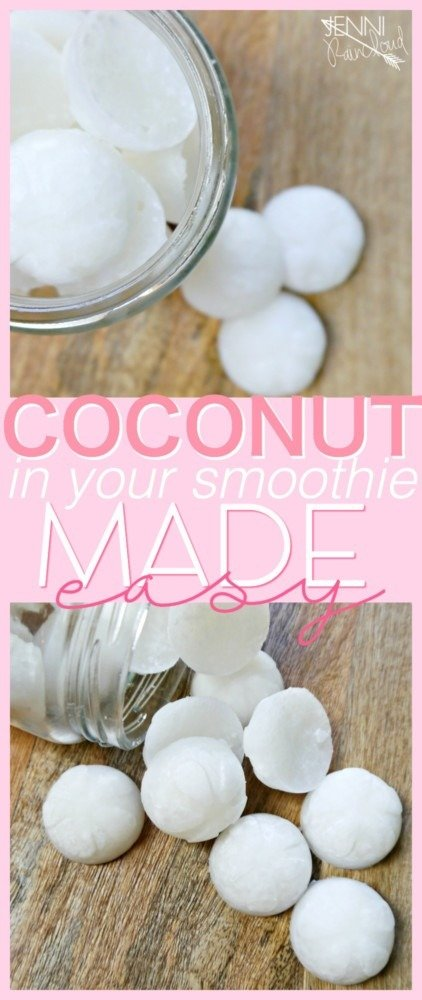 Coconut In Your Smoothie