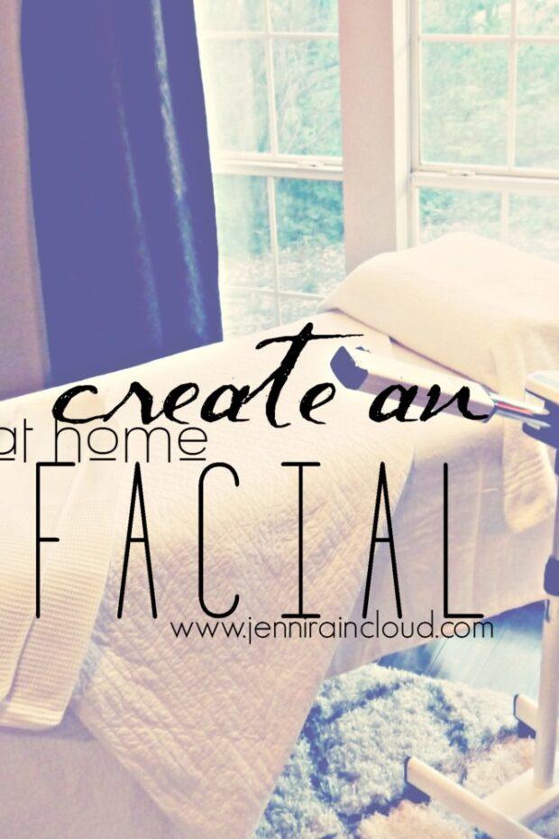 Create and At home facial