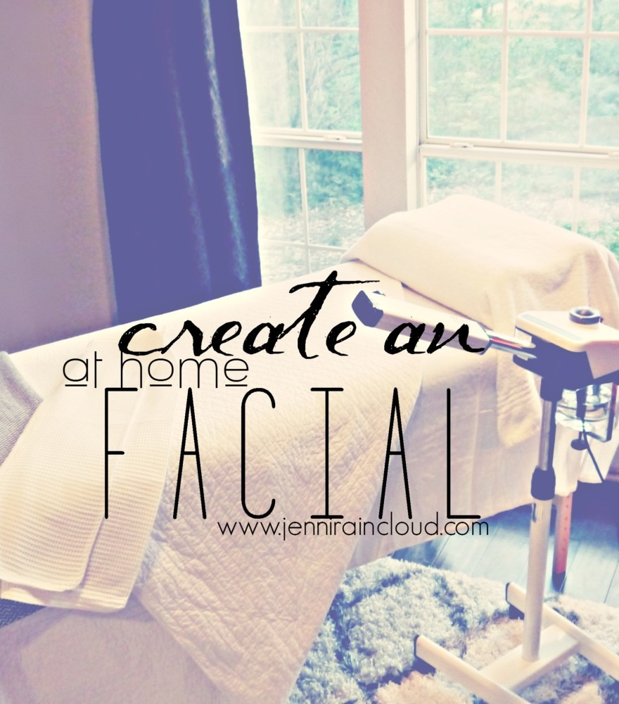 Create and At home facial