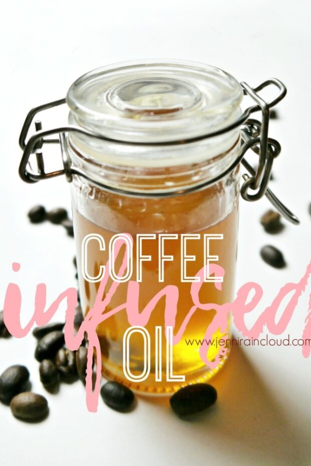 How to Infuse Oil with Coffee