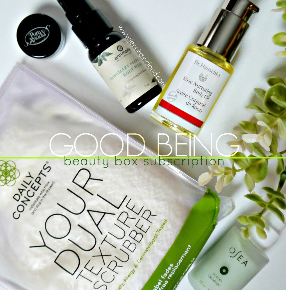 Good Being Beauty Box Subscription