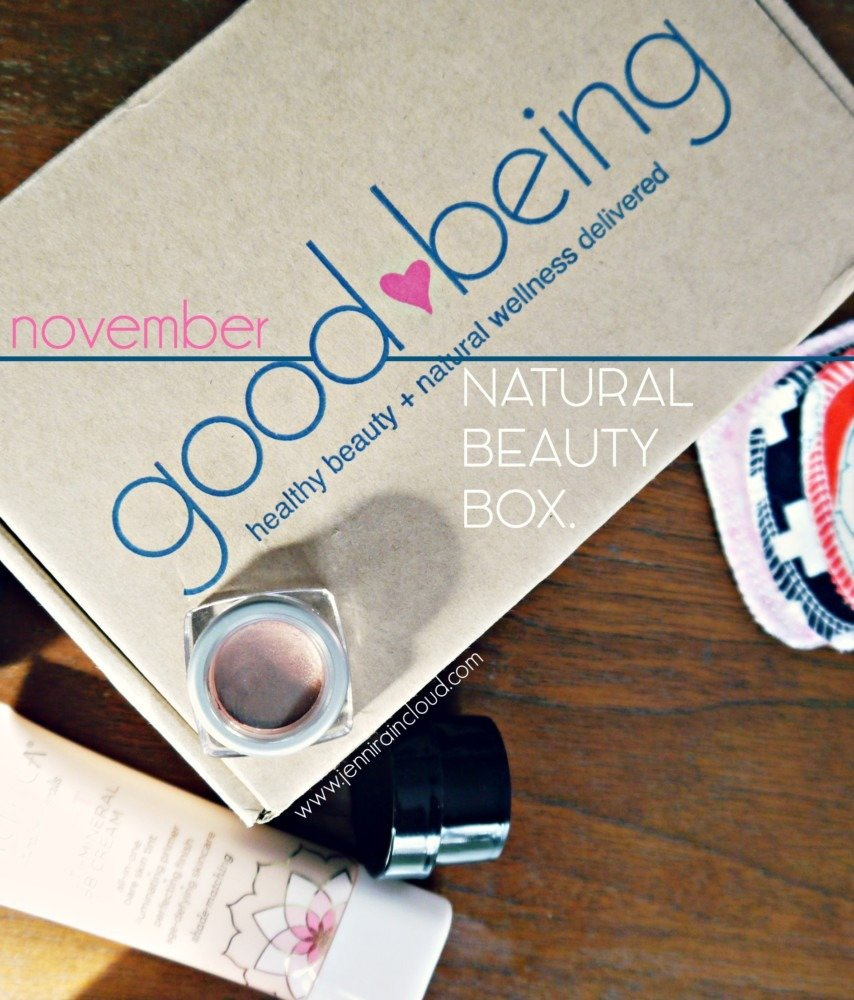 Good Being Beauty Box-November