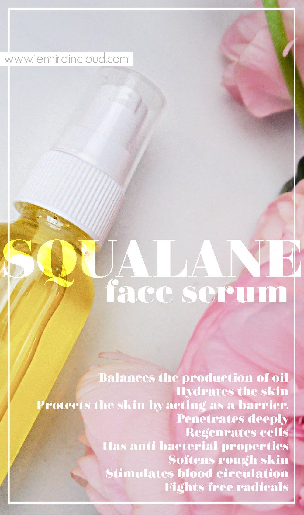 DIY Squalane Face Serum