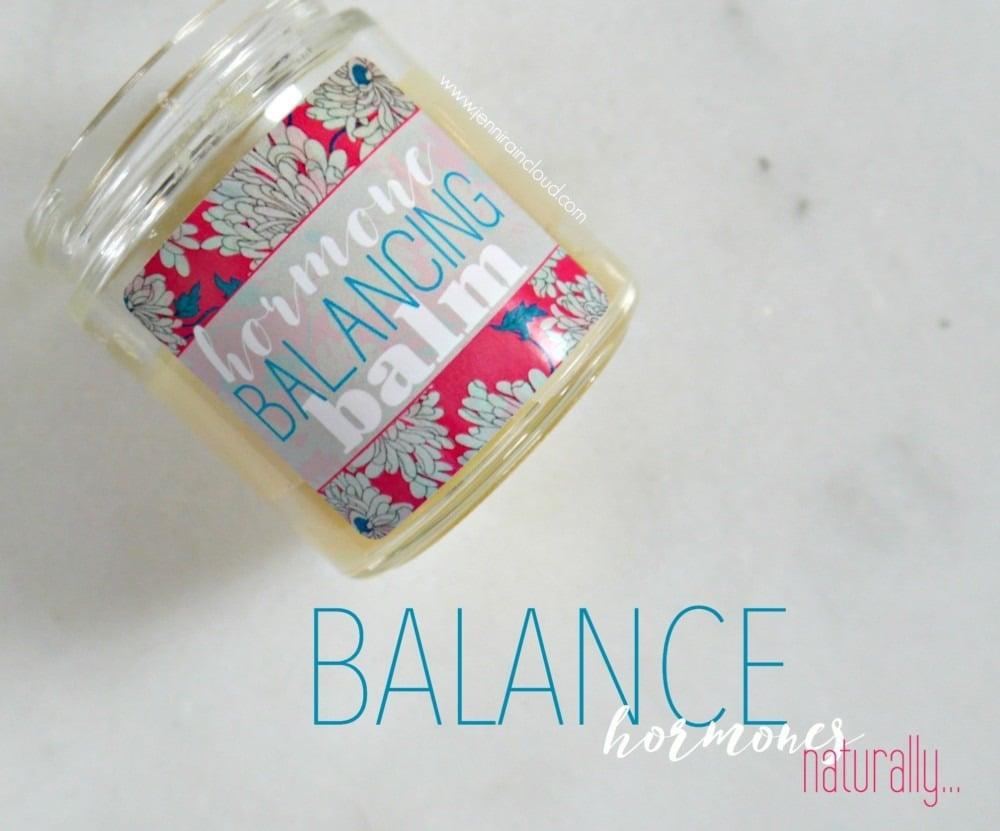 DIY Hormone Balancing Balm