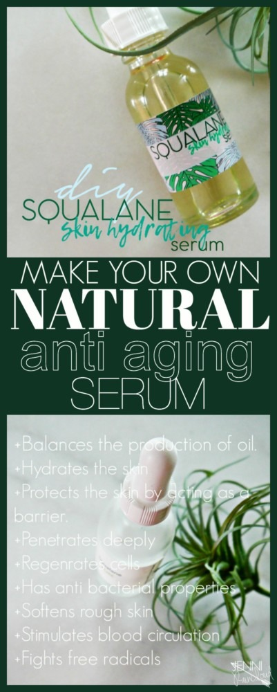 DIY Squalane Serum