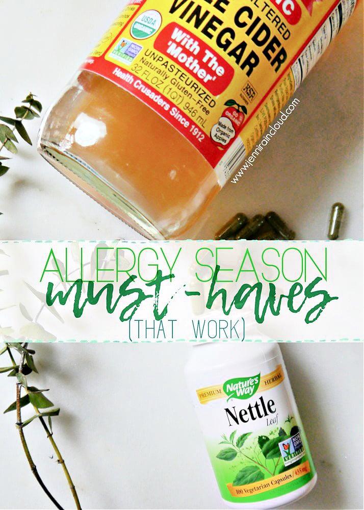Allergy Season Must Haves