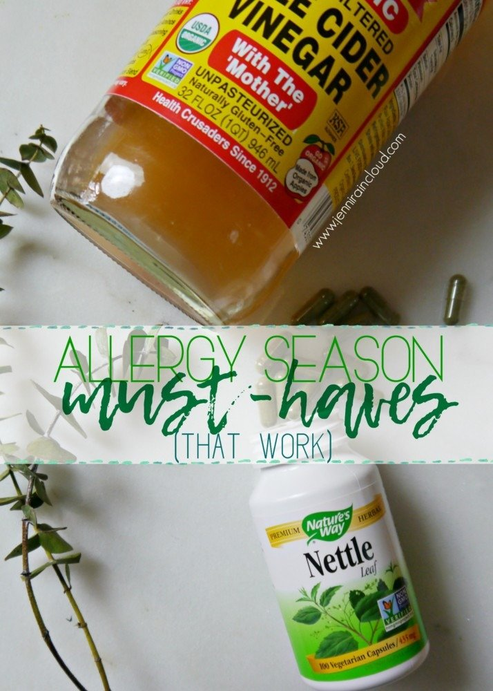 Allergy Season Must-Haves