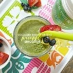Collagen Beauty Greens Pineapple Smoothie!