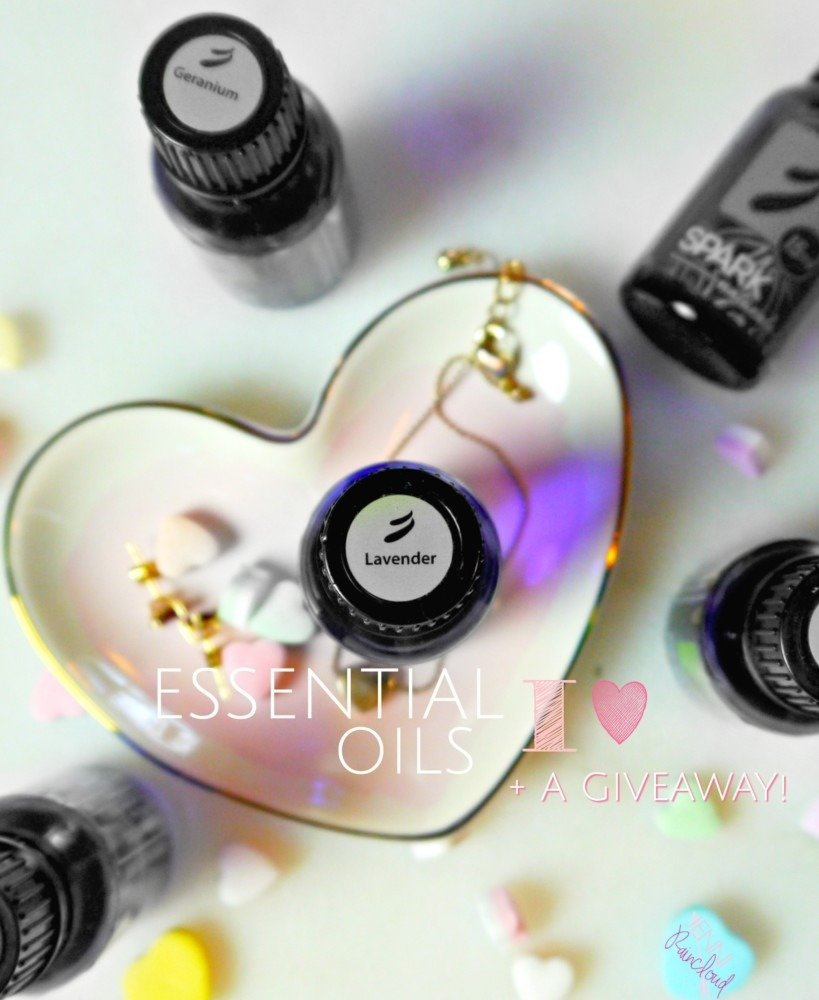 Essential Oils I Heart (and a GIVEAWAY!)
