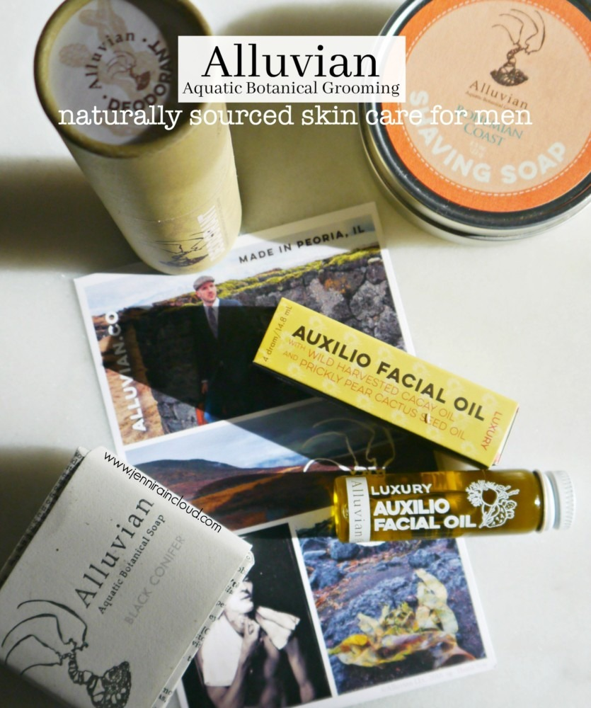 Alluvian: Aquatic Botanical Grooming for Men