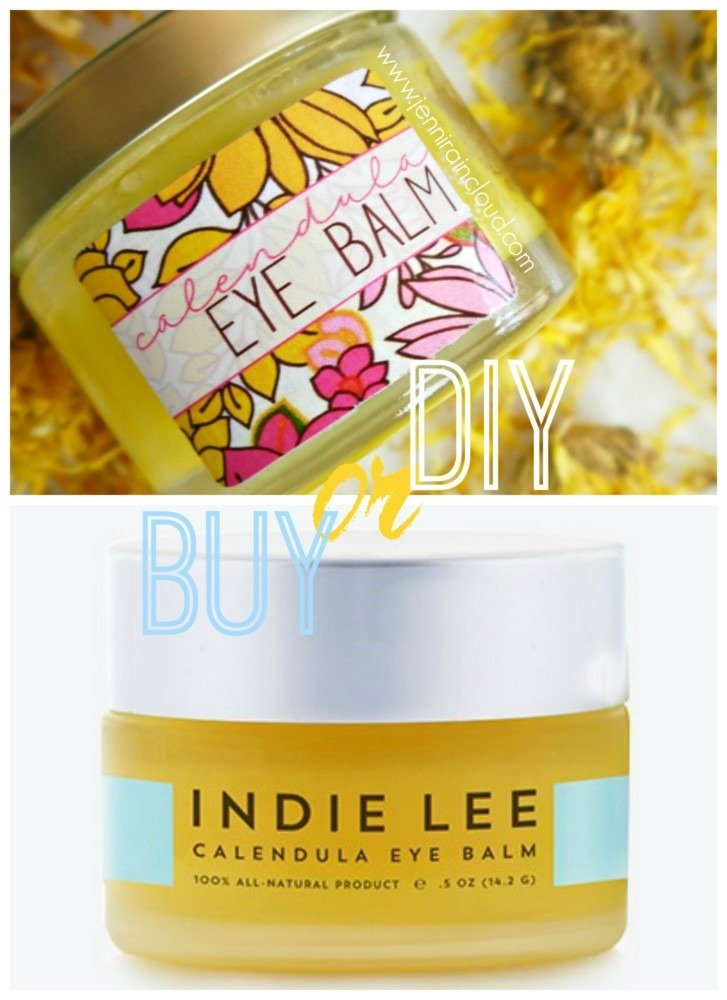 Calendula Eye Balm DIY or BUY