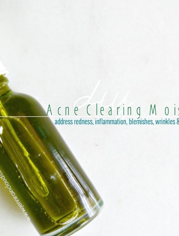Acne Clearing Moisturizer DIY