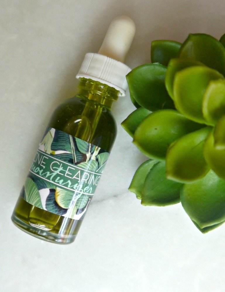 DIY Acne Clearing Moisturizer