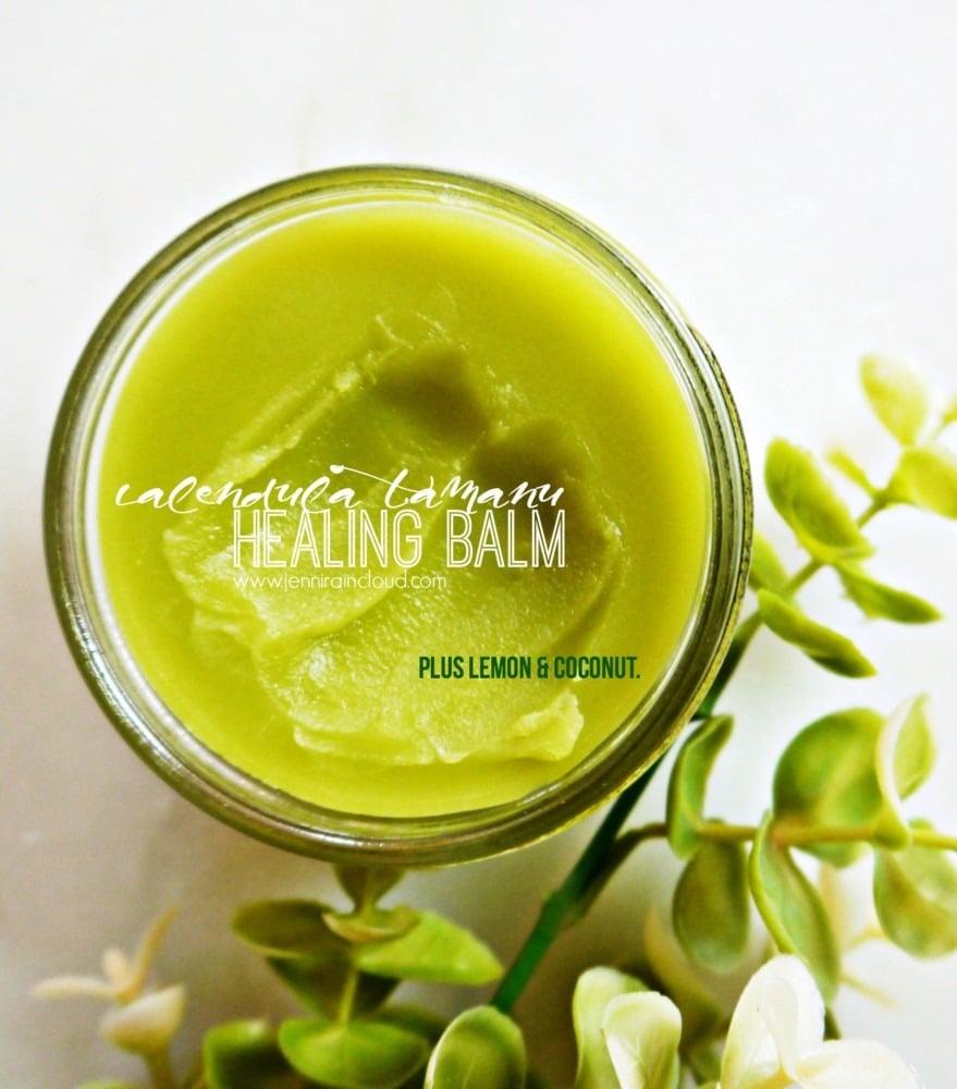 DIY Healing Balm with Calendula