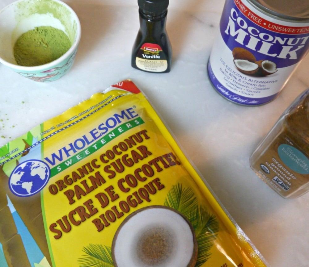 5 Ingredients Matcha Ice Cream