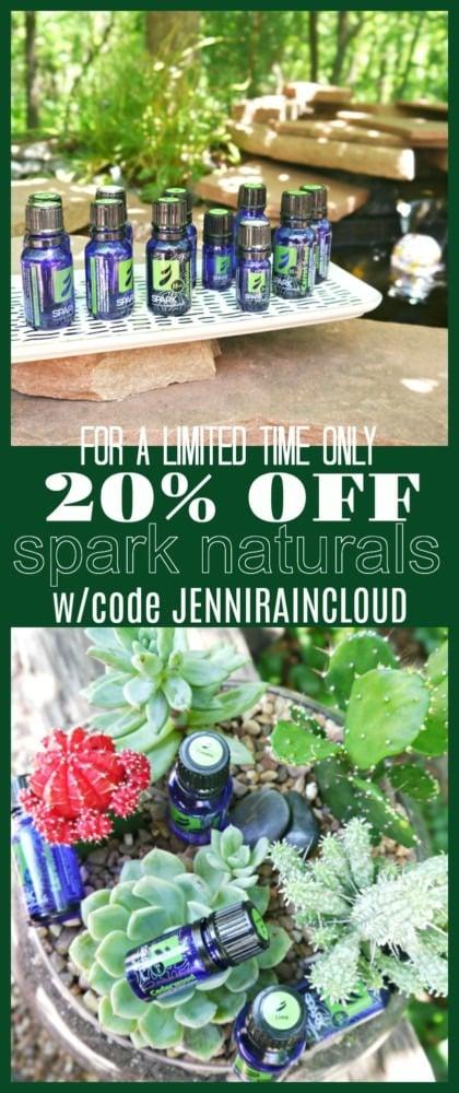 20% OFF SPARK NATURALS