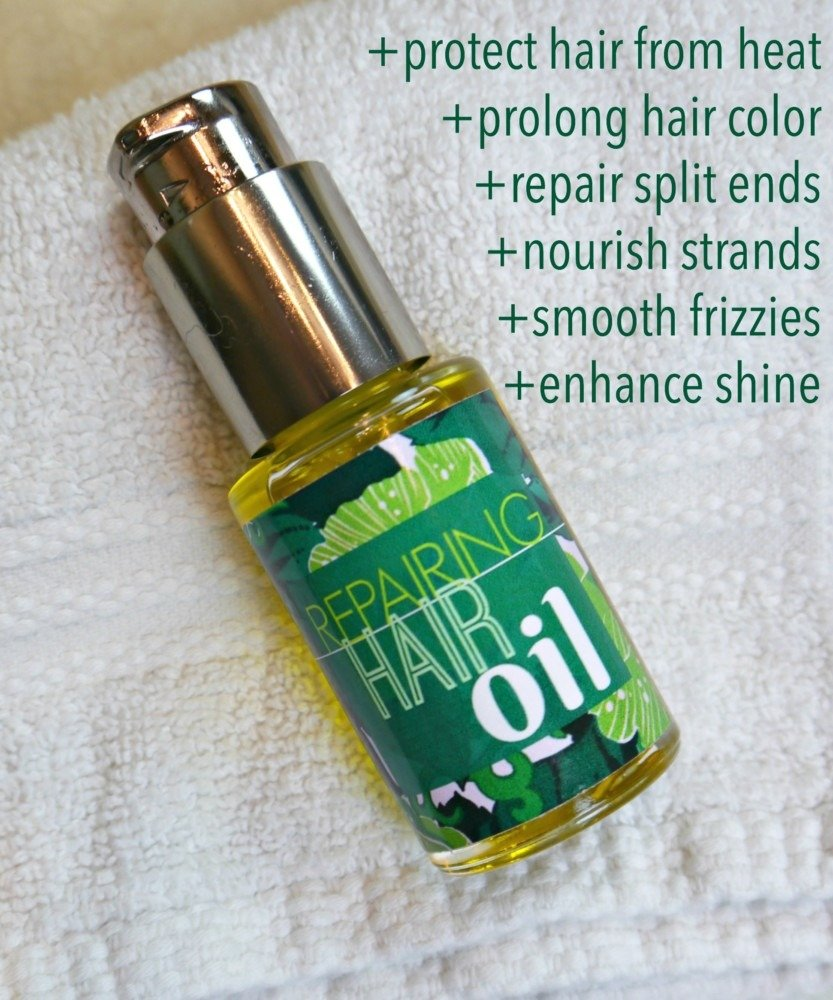 DIY Hair Oil