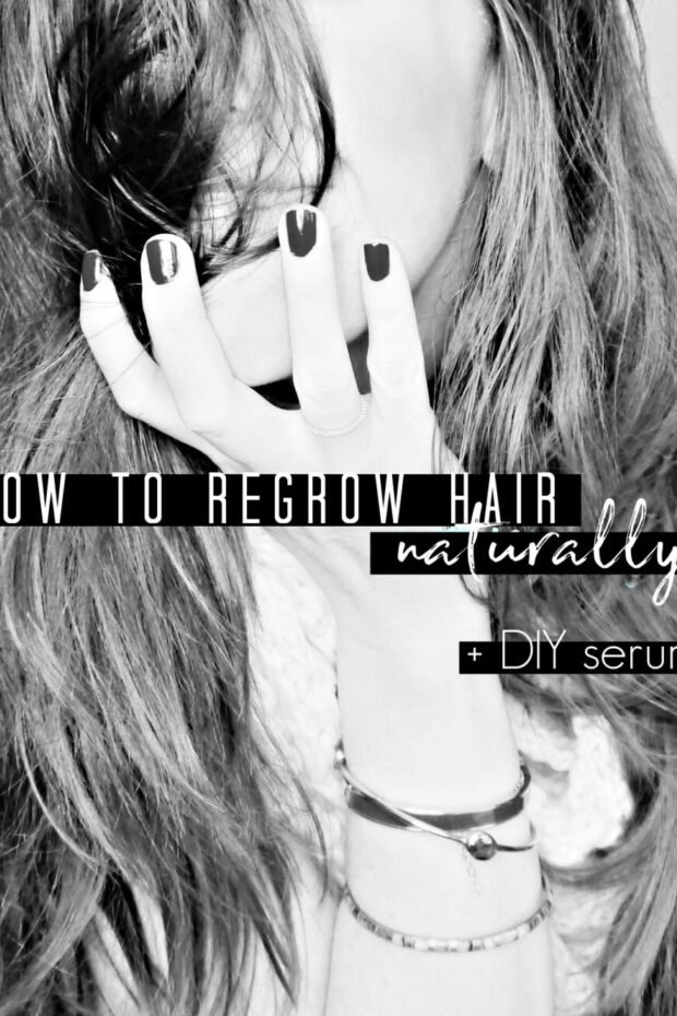 DIY Hair Re-Growth Serum