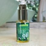 DIY Repairing Hair Oil and Color Protector