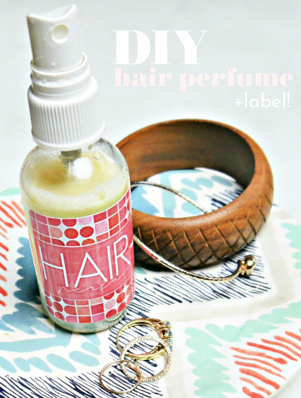 DIY Hair Perfume