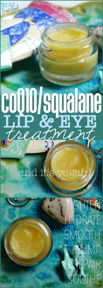 coQ10 Squalane Lip and Eye Treatment