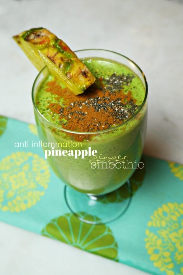 Pineapple Ginger Smoothie Recipe