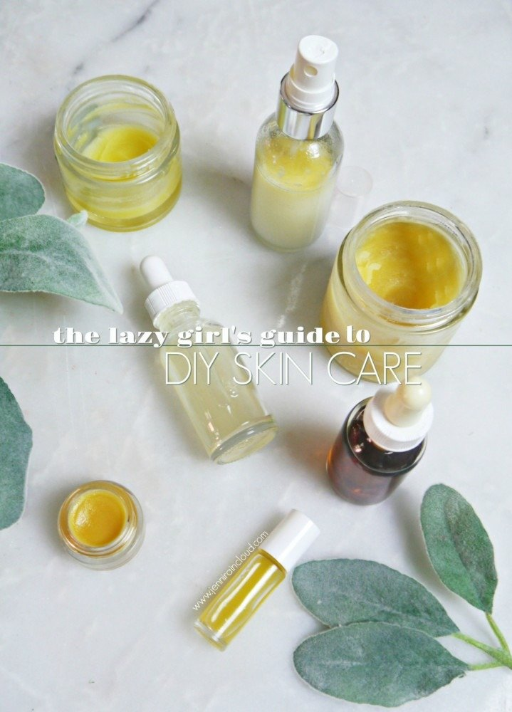 Lazy Girl's Guide to DIY Skin Care