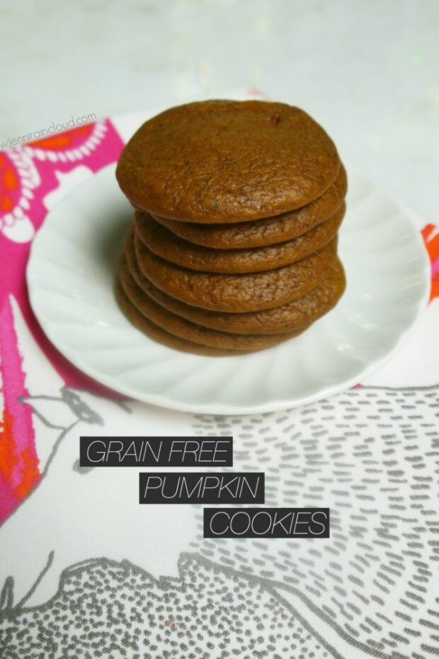 Grain Free Pumpkin Cookies