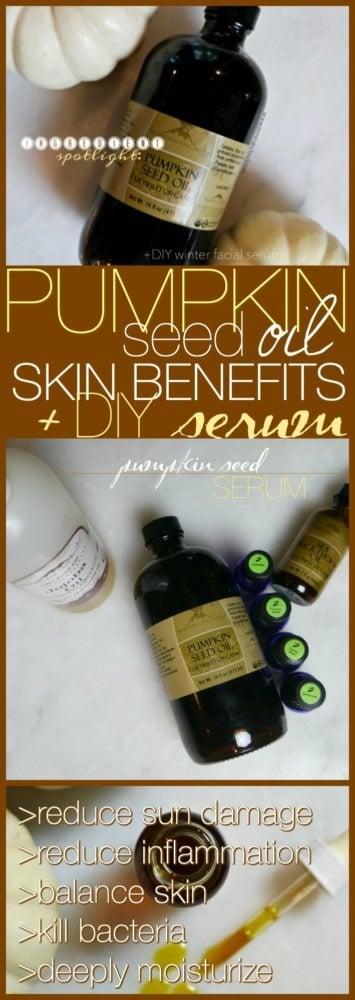 Pumpkin Seed Oil Serum DIY